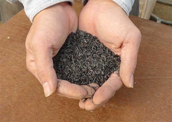 もみ殻くん炭