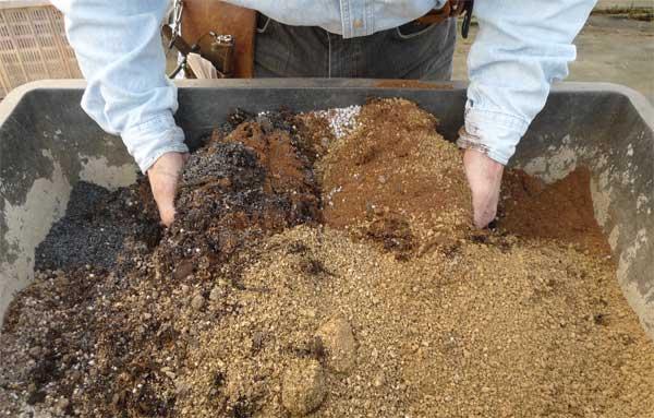 ハーブ用土のブレンド