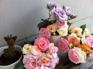 ローズの花束