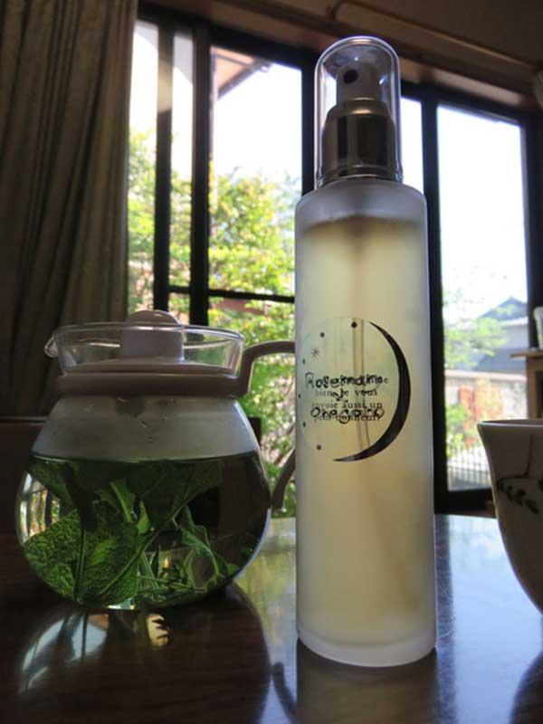 ローズマリーとオレガノの化粧水